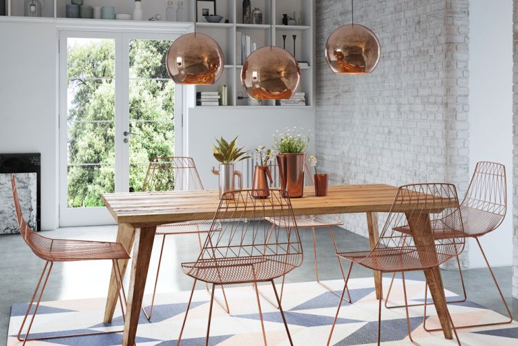 7 of the best industrial style dining chairs. Black Bedroom Furniture Sets. Home Design Ideas