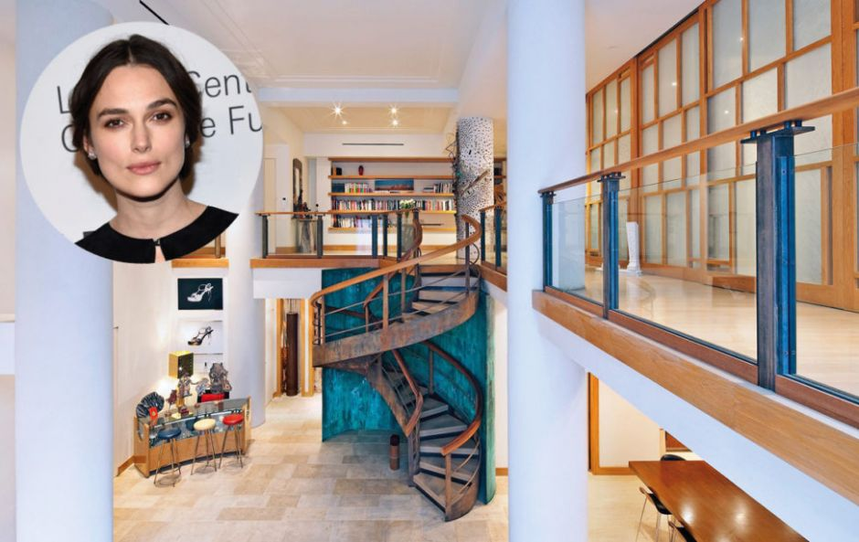 Look inside Keira Knightley's glam New York City apartment