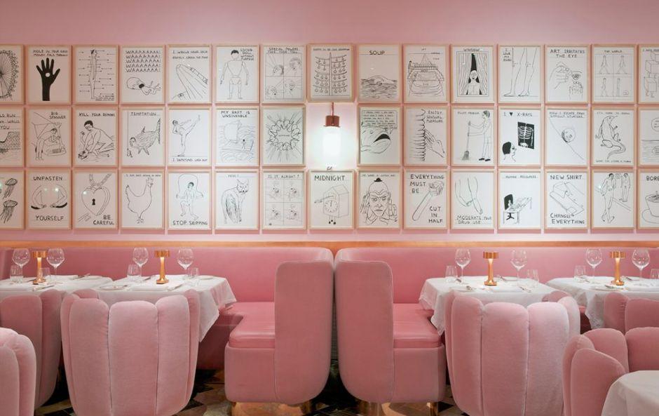 India Mahdavi's colourful interior design at Sketch London is Instagram-worthy interiors goals