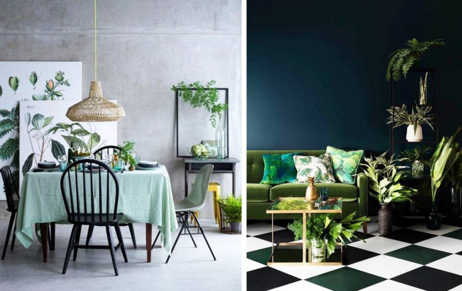 10 dream interior design schemes where green steals the show