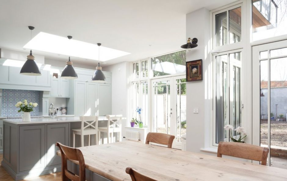 This makeover made for a beautifully lit, spacious kitchen in a Dublin period home