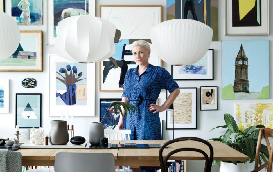 For art's sake: Your first step inside Mette's apartment will take your breath away