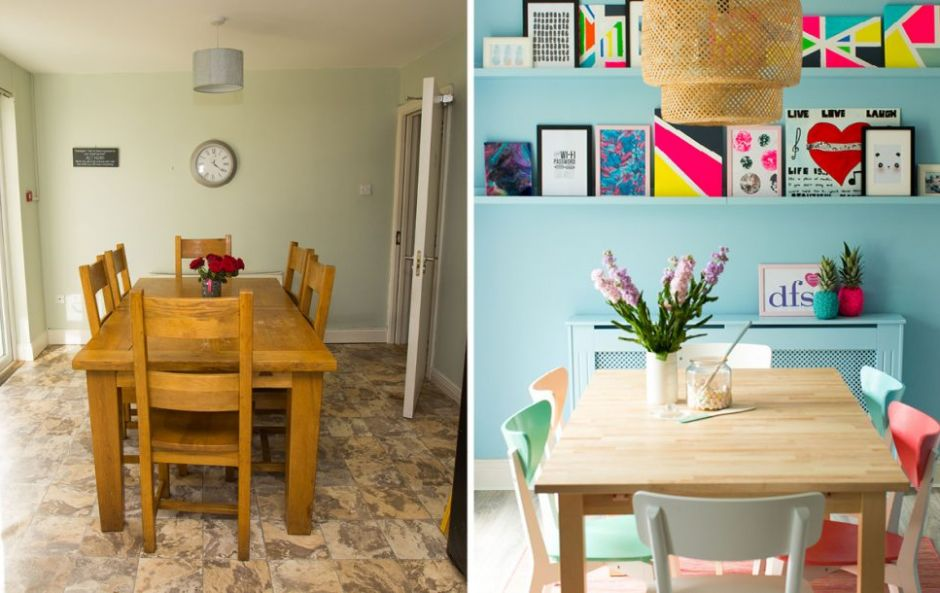 This Irish charity home makeover totally transformed a home for young care leavers