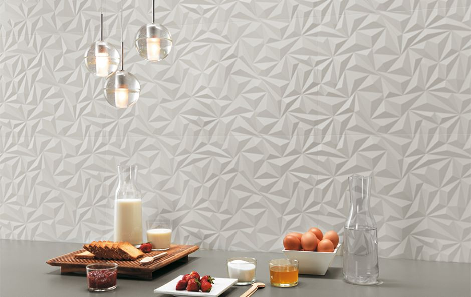 Trend alert: Bring your walls to life with three dimensional tiling