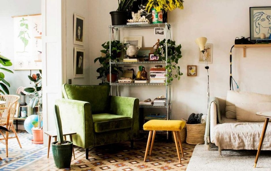 Designer Paloma Lanna's relaxed, eclectic, boho home in Barcelona