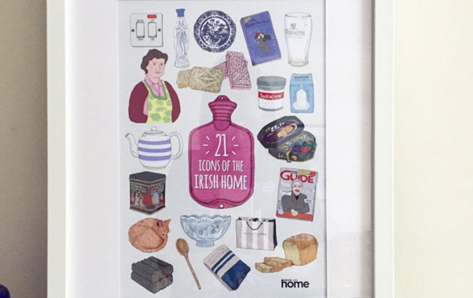WIN! One of our exclusive 21st anniversary '21 Icons of the Irish Home' illustrated prints!