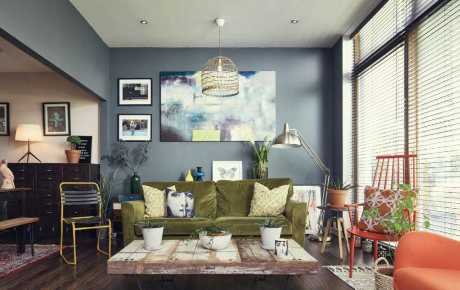 Paul and Pawel's Dublin city apartment full of surprises and dark decor