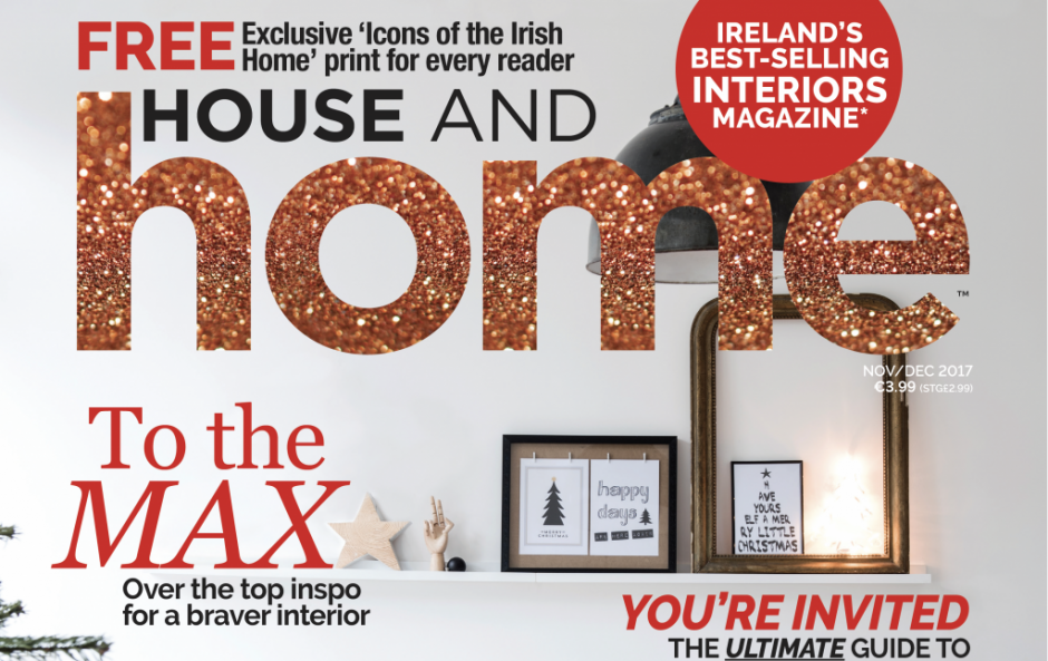Your sneak peek in to our gorgeously festive issue of House and Home