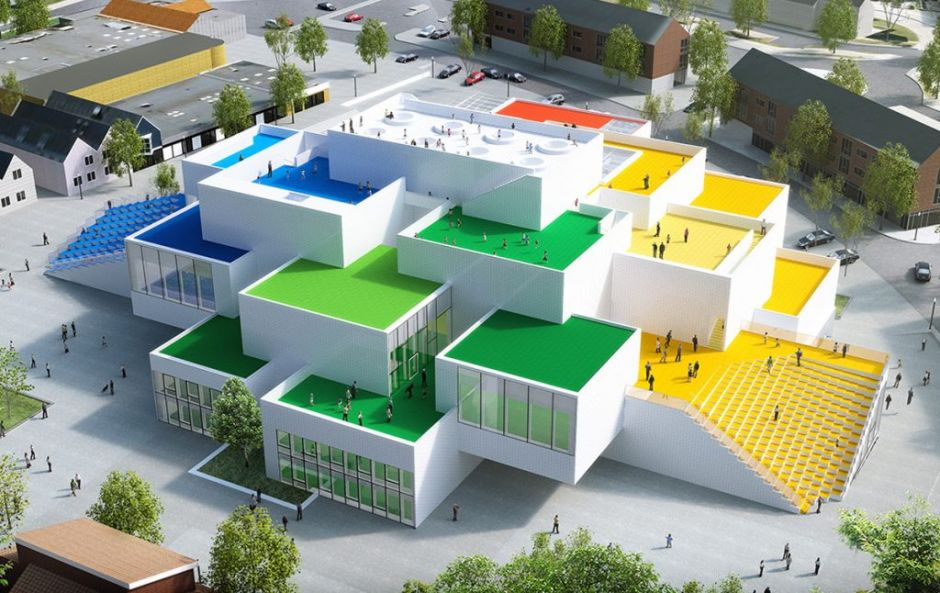 You can stay in a real life lego house by answering one creative question