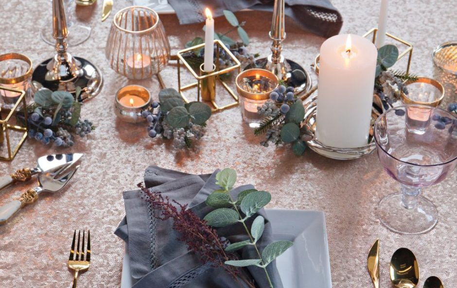 The main event: everything you need for Christmas table settings to impress