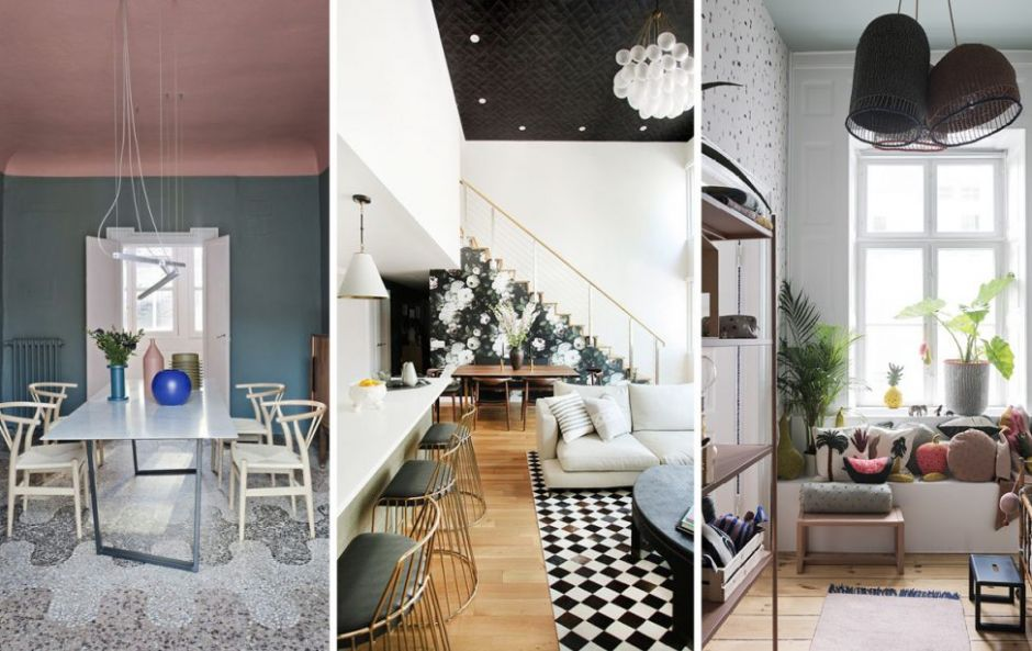 Forget accent walls - statement ceilings are the next big thing