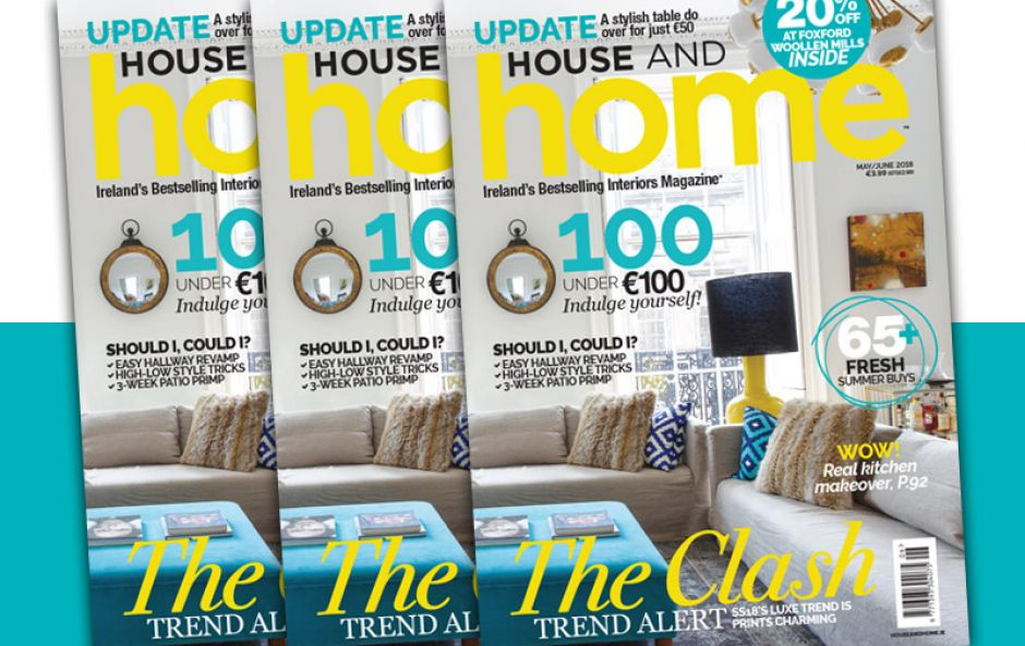 20% off at Foxford Woollen Mills & 8 more reasons you need House and Home's May/June 2018 issue