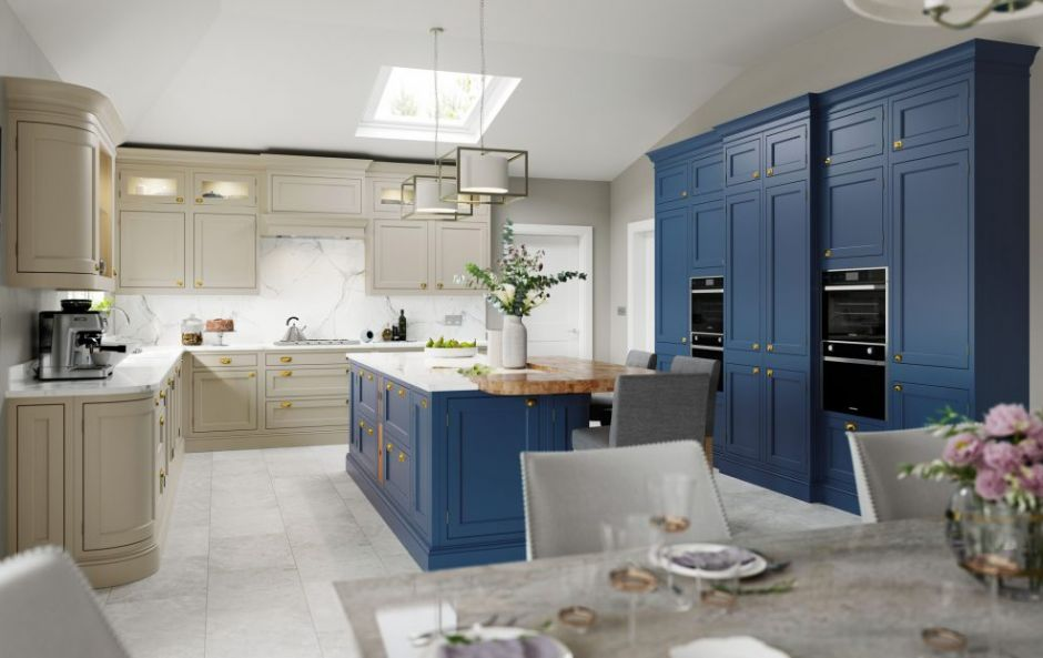 TREND ALERT: Bold statement colour themes are coming back for kitchens