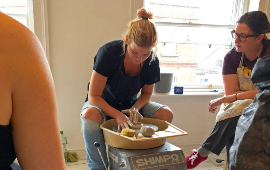 We tried Arran Street East's pottery throwing workshop and here's how we got on