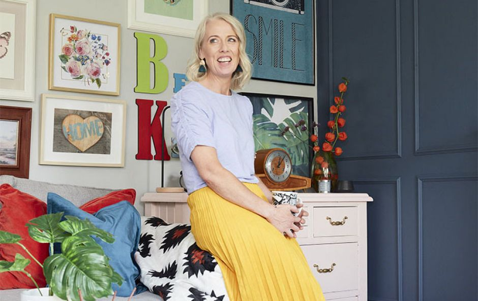 Love your living room: Joanne Mooney from A Proud Home gets Prints Charming with Penneys' Retro Luxe collection