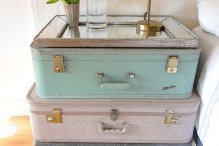 Trend Alert: Vintage Suitcases