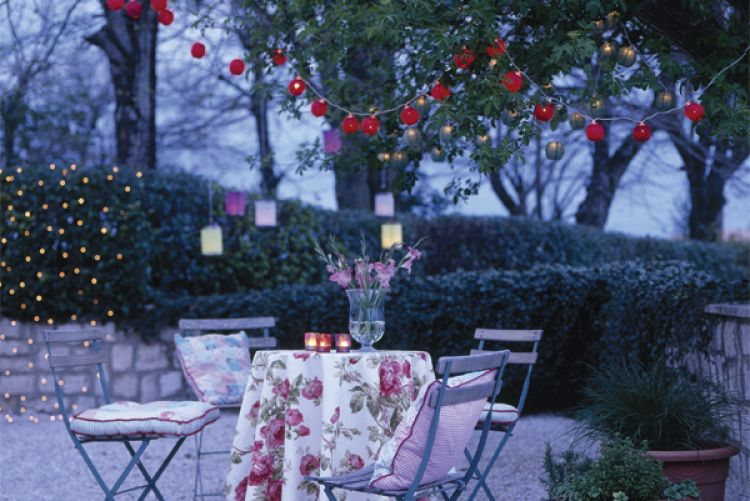 Spruce up your outdoor space