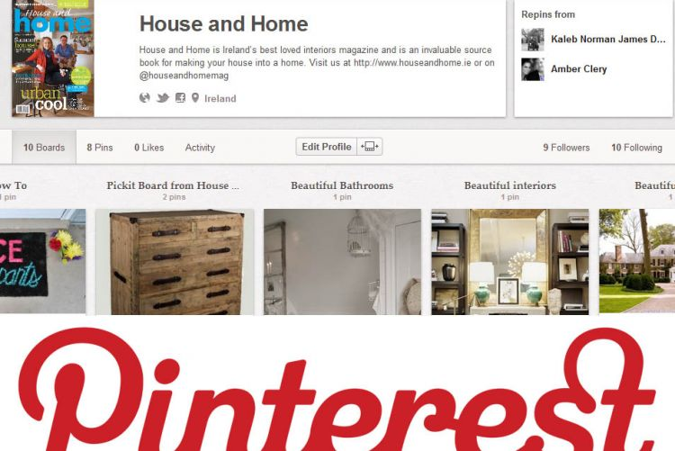 House and Home's on Pinterest - Join us!