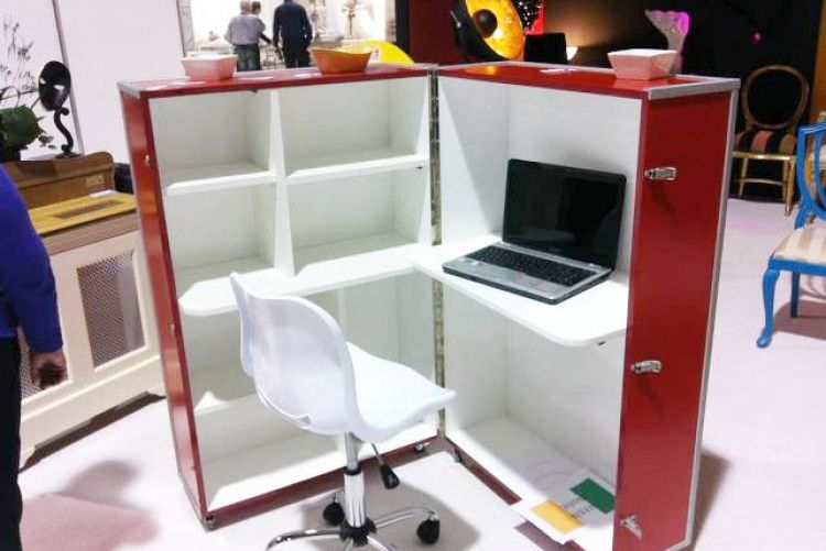 Office in a Box: Perfect for small spaces