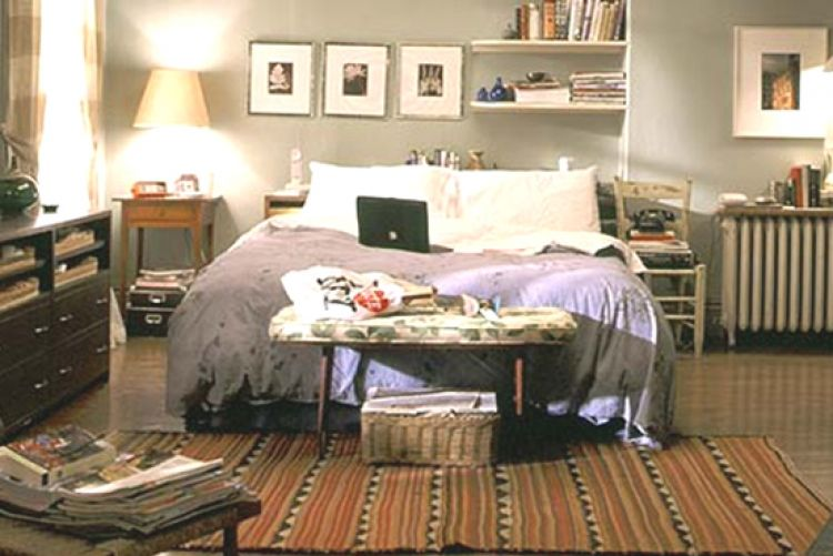 Carrie Bradshaw's apartment: old one versus new one