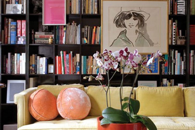 Get the library look in your home