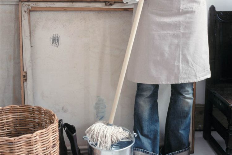 Mop to it: wet weather days inspire us to spring clean