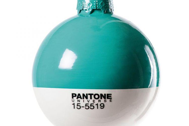 Colour it beautiful: Pantone Christmas baubles