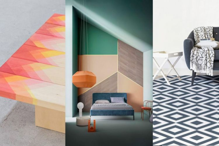 Does a graphic designer live here? 7 ways to put the geometric trend to work