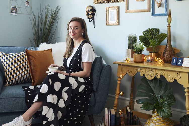 Love your living room: Katrina Carroll from Vintage Irish Kat adds direction with Penneys' Retro Luxe collection