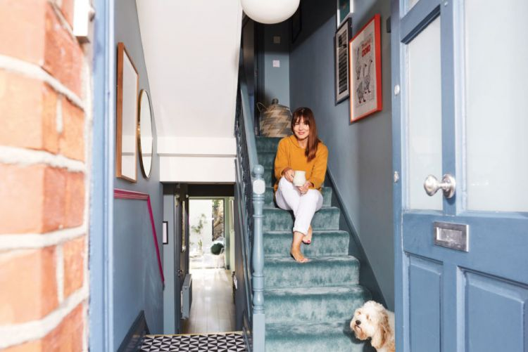 Budget Breakdown: Laura Chambers' €3,500 bright and bold hallway makeover