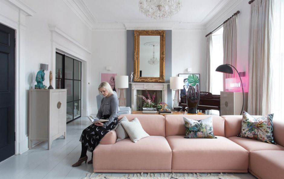 Space informs style in Anna Atwal's eclectic Edinburgh home