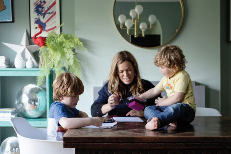 Lisa Marconi's Dublin home is full of personality, colour and a dash of glam rock