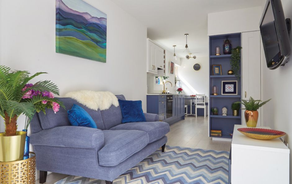 Niamh O'Carroll's extension is a lesson in maximising your space
