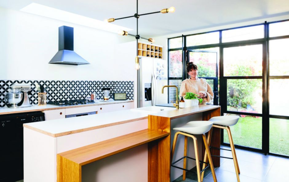 Budget breakdown: Roisin's €10,000 pink and blue kitchen makeover
