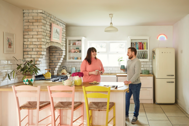 Colour and creativity make this DIY home renovation a stand out success