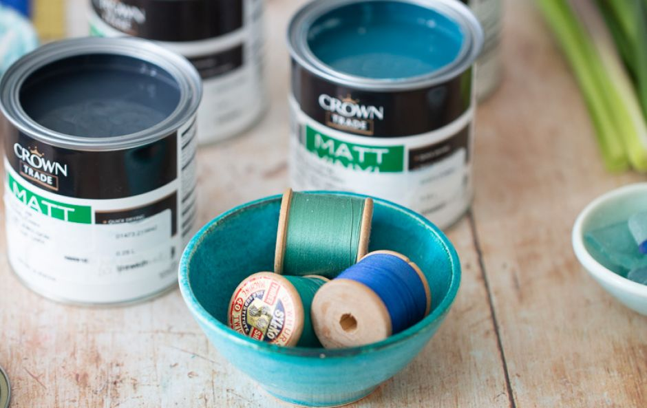 Introducing Warm Blues, Our Collaboration with Crown Paints