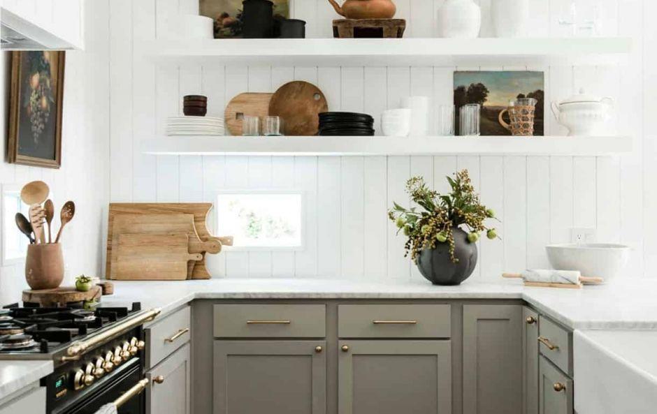 Kitchen shelfie styling tips