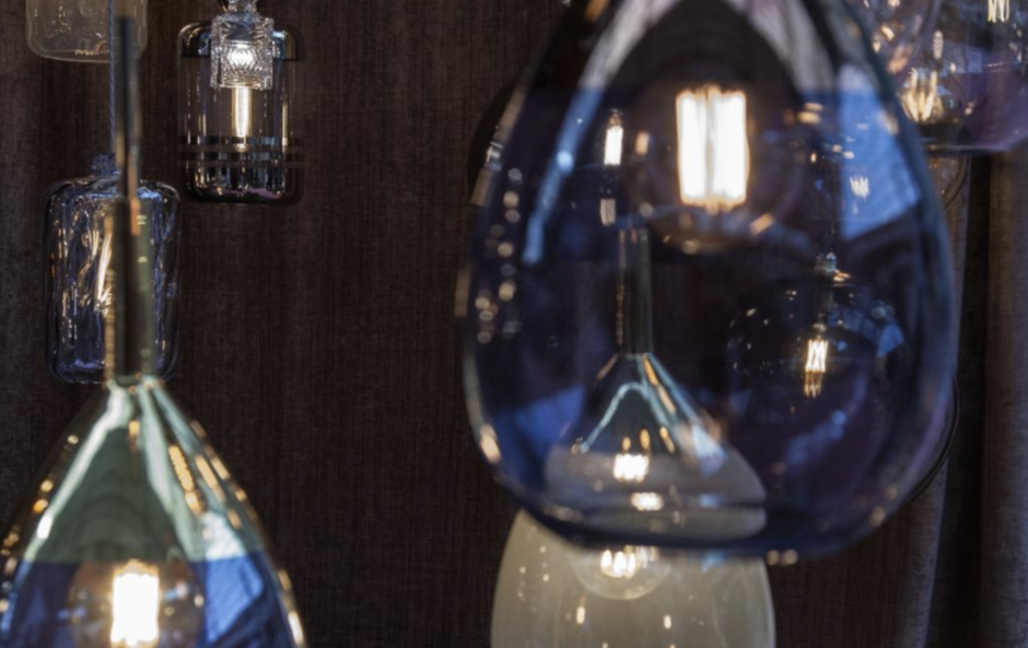 All light now: 9 glass light pendants that are super on trend right now