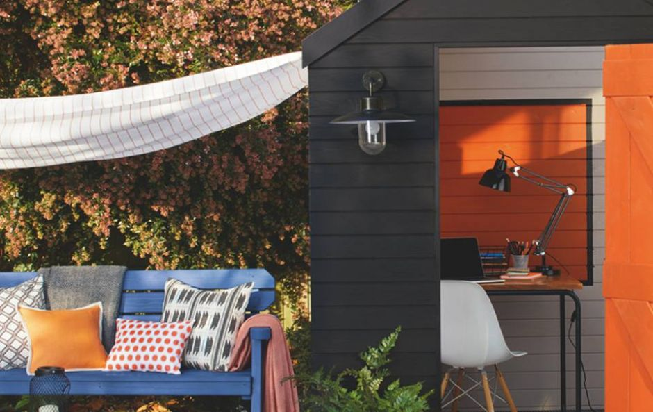 Planning on painting in your garden? These are the hottest colours and shades for summer 2019