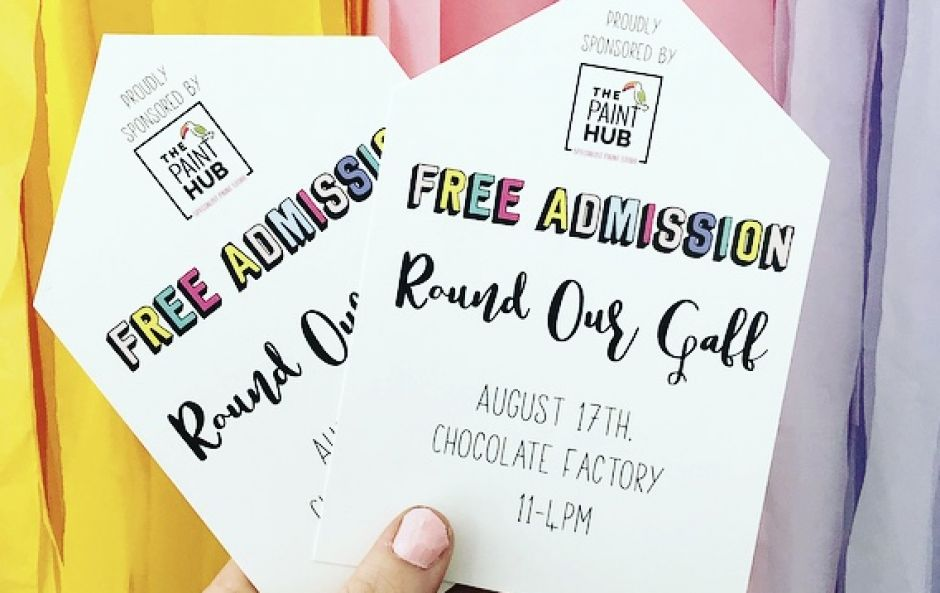 WIN! Two tickets to #ROUNDOURGAFF with your favourite DIY Instagrammers