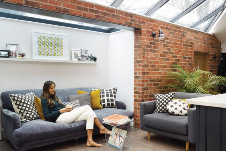 Sarah's renovated townhouse is the essence of casual and sophisticated style