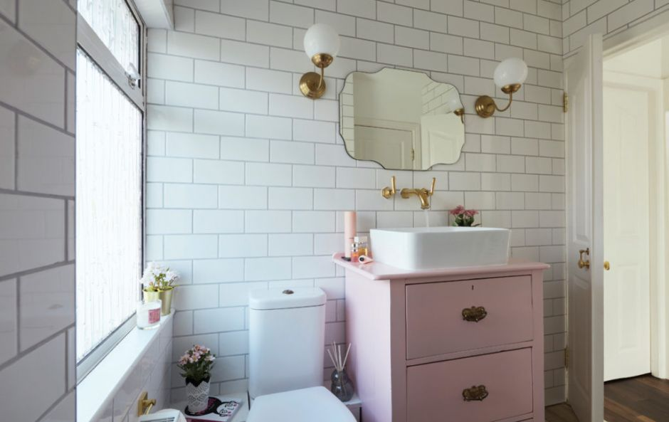 Budget breakdown: Clodagh's €5,000 fabulous and functional bathroom makeover