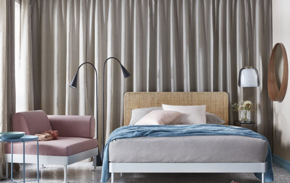 IKEA's modular furniture range DELAKTIG is expanding to the bedroom