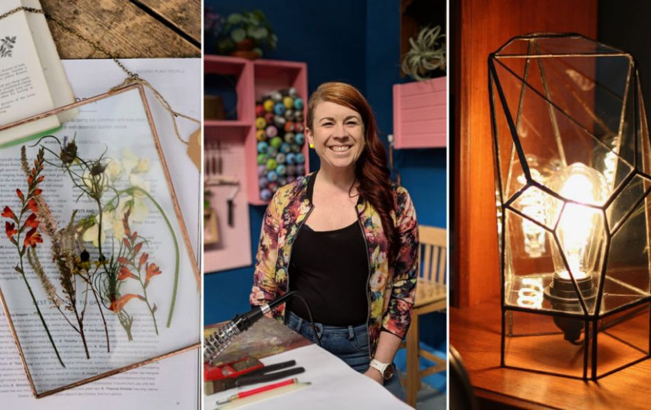 Introducing... WildBird Studio, a stained glass designer and maker, and workshop destination