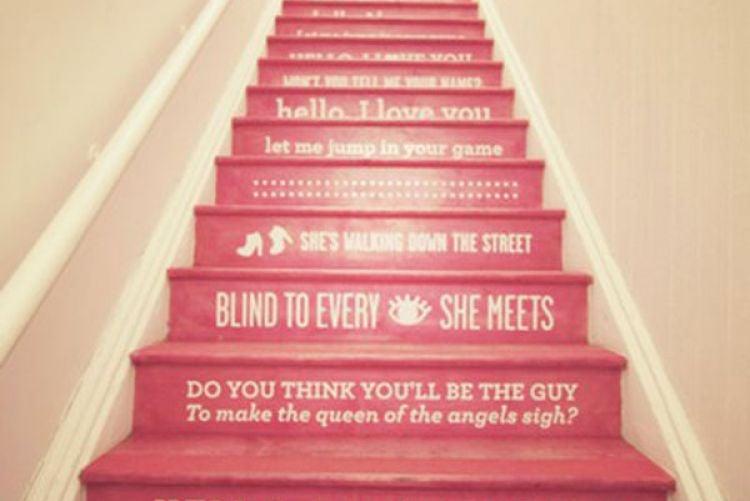 Trend Alert Painted Stairs Houseandhome Ie