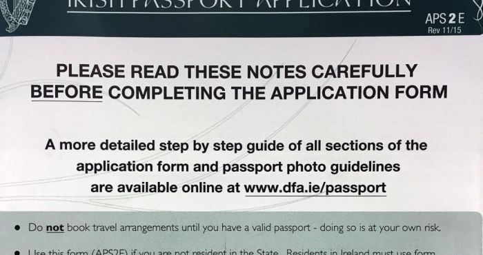 Delays In Irish Passport Applications In London Causes Outrage As