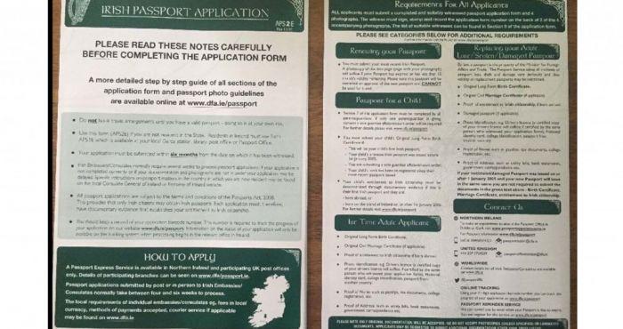 Irishman Posts Tongue In Cheek Ad Selling Off An Old Irish Passport