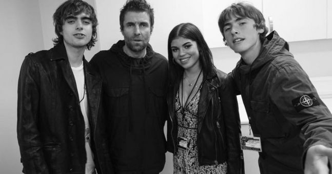 Liam Gallagher shares emotional image of first meeting with daughter