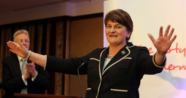 THAT'S LIFE: Arlene Foster belts out favourite Frank Sinatra song at British Irish Council summit | The Irish Post