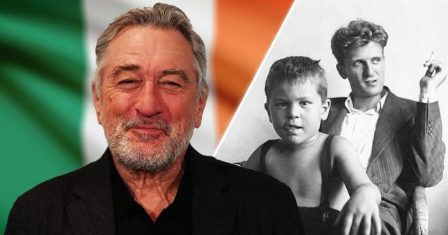Robert De Niro admits he is desperate to trace his Irish heritage after years of searching